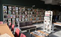 Leeszaal van de bibliotheek van Herent