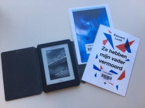 e-reader met e-boeken